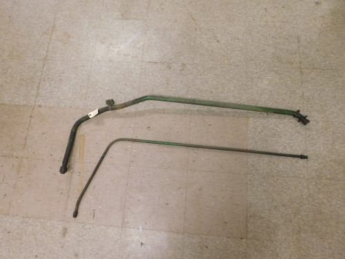JD 420 430 FRONT & REAR HYDRAULIC PUMP INLET LINES 12360