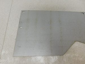 JD UNSTYLED D REPRODUCTION RIGHT REAR DUST SHIELD 12873