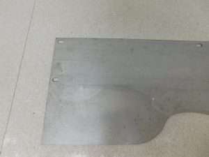 JD UNSTYLED D REPRODUCTION RIGHT REAR DUST SHIELD 12875
