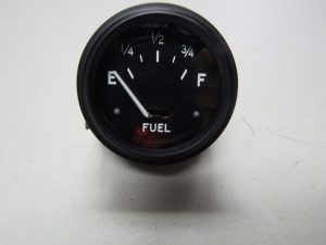 JD 720 730 80 820 830  DIESEL 6VT POS. GROUND BLACK FACED FUEL GAUGE W/ SENDING UNIT 9299